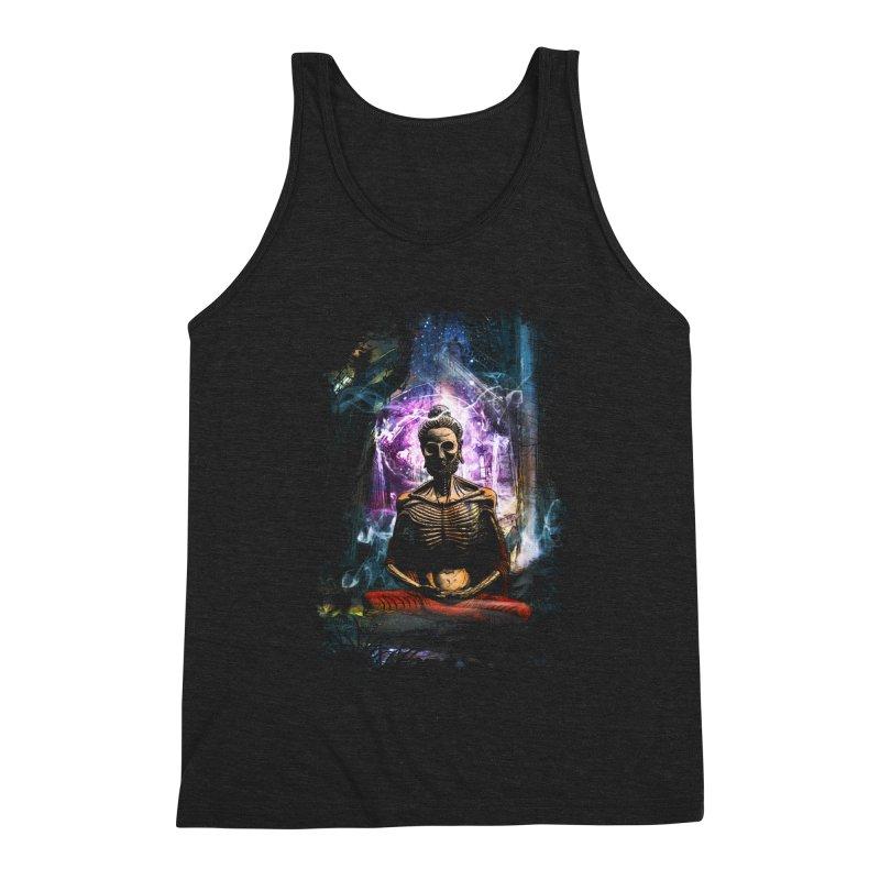 Spiritual Healing Men's Triblend Tank by Saksham Artist Shop