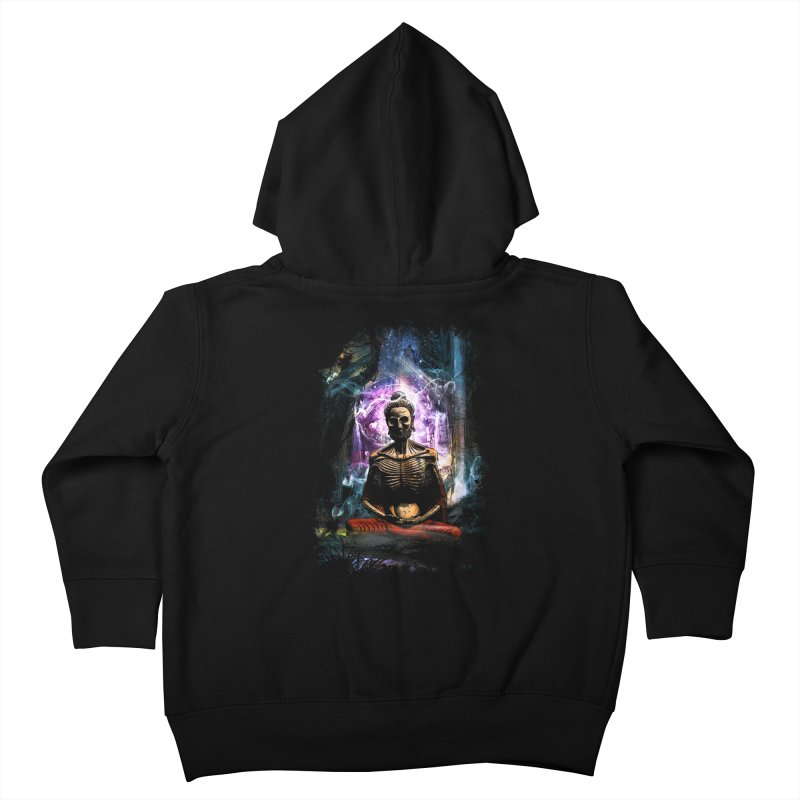 Spiritual Healing Kids Toddler Zip-Up Hoody by saksham's Artist Shop