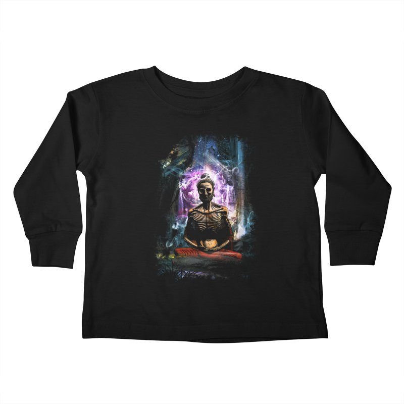 Spiritual Healing Kids Toddler Longsleeve T-Shirt by saksham's Artist Shop
