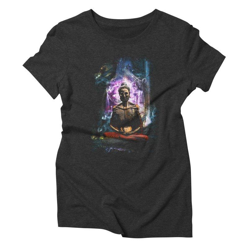 Spiritual Healing Women's Triblend T-Shirt by Saksham Artist Shop