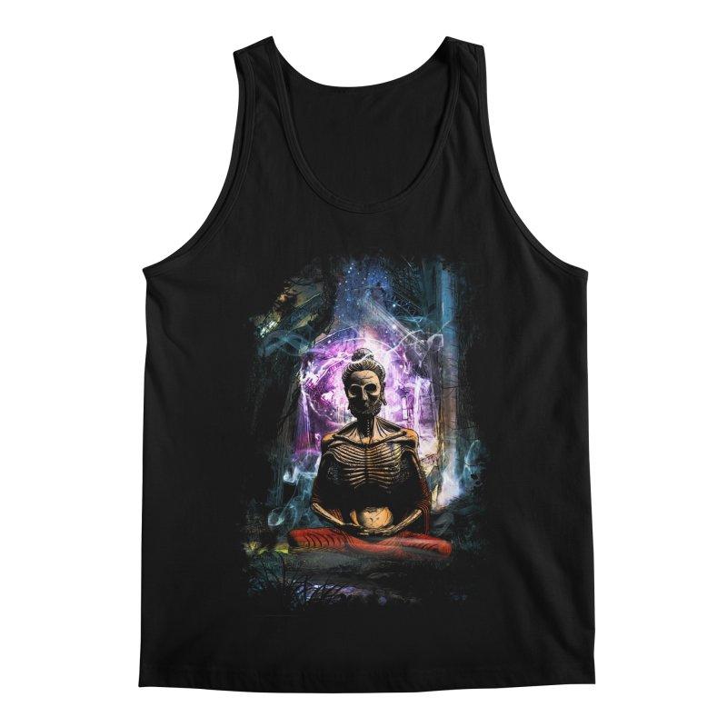 Spiritual Healing Men's Regular Tank by Saksham Artist Shop