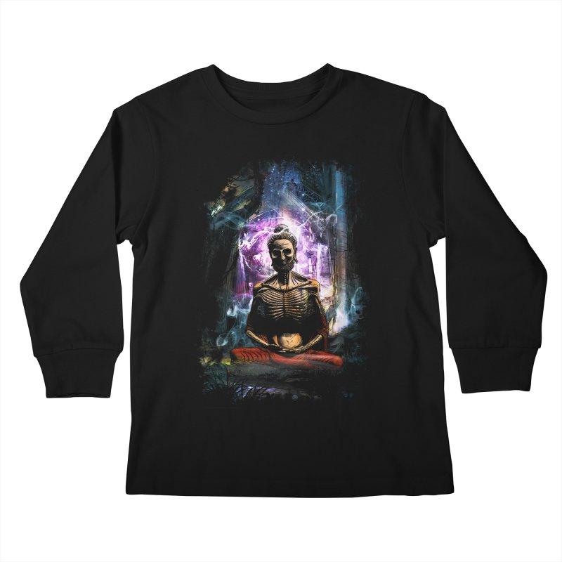 Spiritual Healing Kids Longsleeve T-Shirt by Saksham Artist Shop