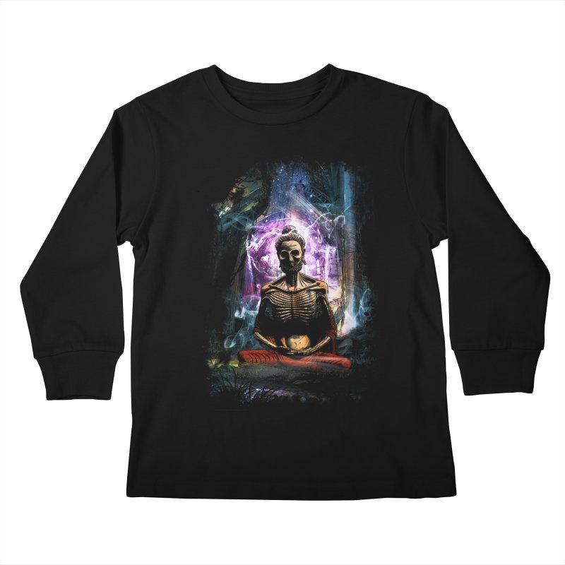 Spiritual Healing Kids Longsleeve T-Shirt by saksham's Artist Shop
