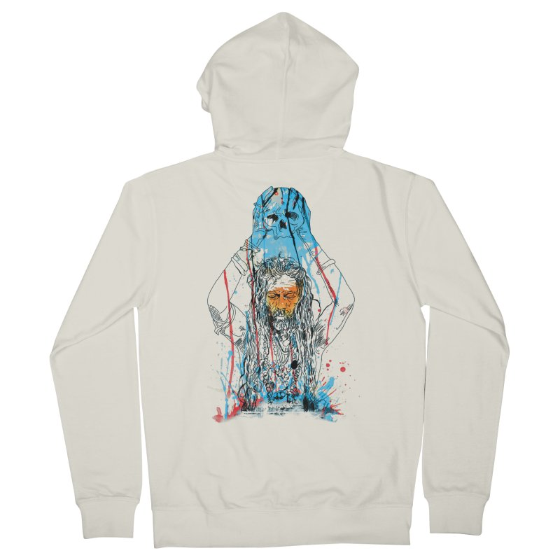 Alakh Men's Zip-Up Hoody by saksham's Artist Shop