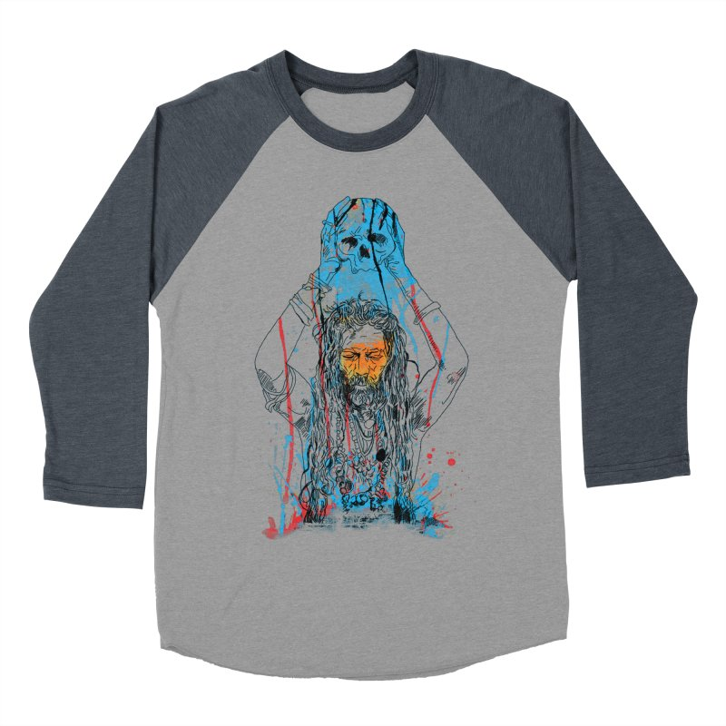 Alakh Women's Baseball Triblend Longsleeve T-Shirt by saksham's Artist Shop