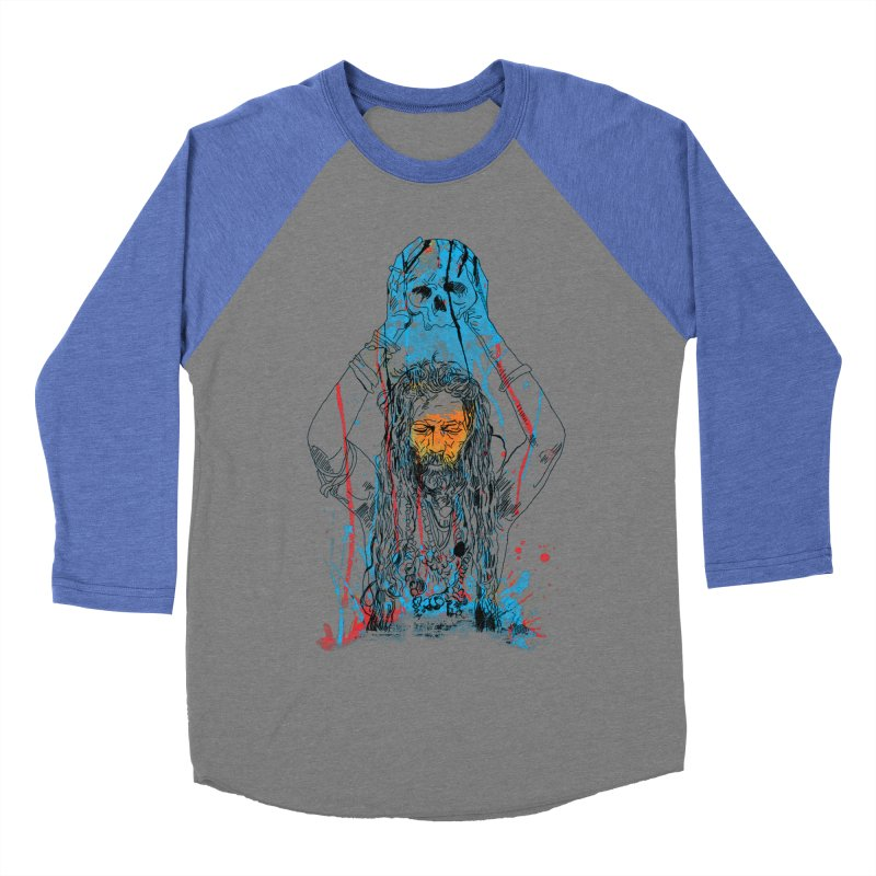 Alakh Men's Baseball Triblend Longsleeve T-Shirt by Saksham Artist Shop