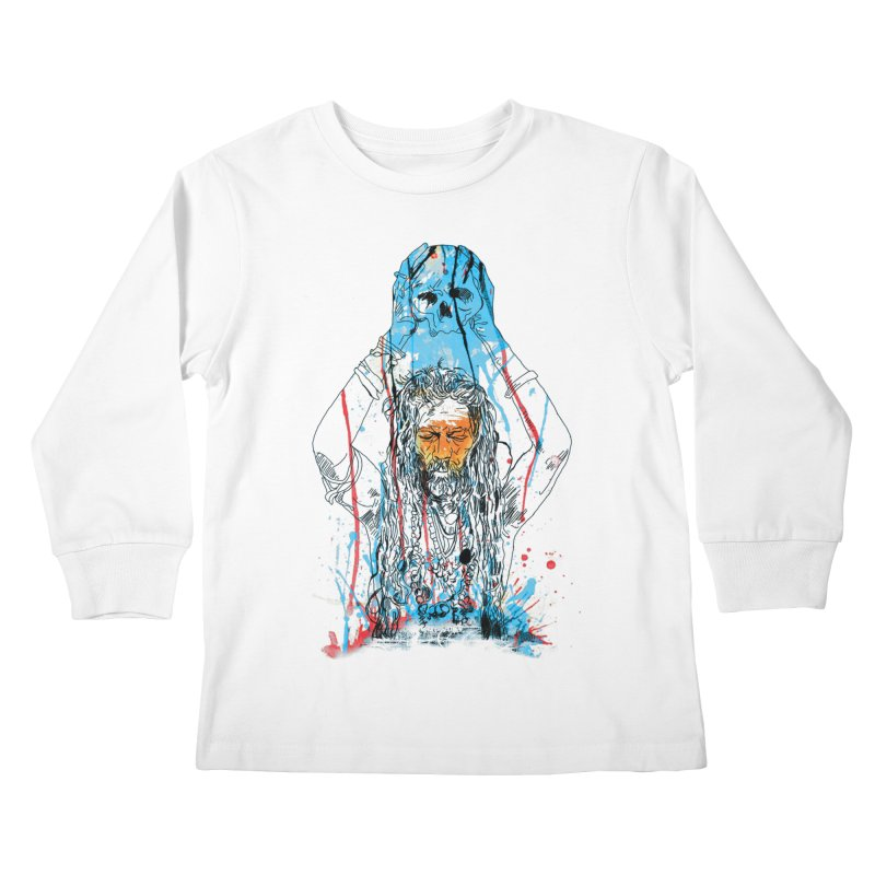 Alakh Kids Longsleeve T-Shirt by Saksham Artist Shop