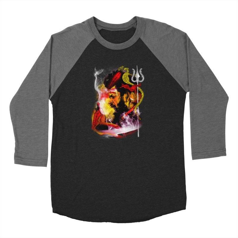 Malang Women's Baseball Triblend Longsleeve T-Shirt by Saksham Artist Shop