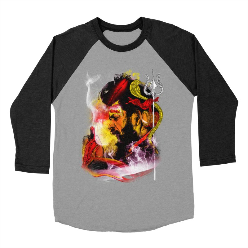Malang Men's Baseball Triblend Longsleeve T-Shirt by Saksham Artist Shop