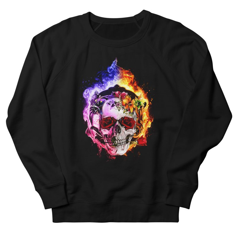 Love VS Hate skull Women's Sweatshirt by saksham's Artist Shop