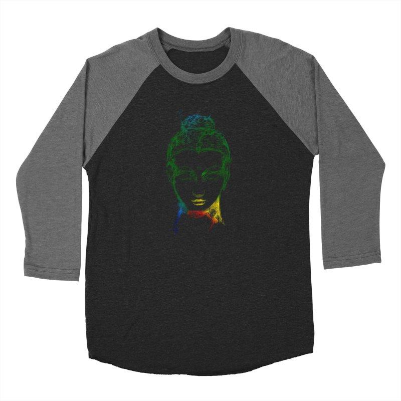 Buddha Light Men's Baseball Triblend Longsleeve T-Shirt by Saksham Artist Shop