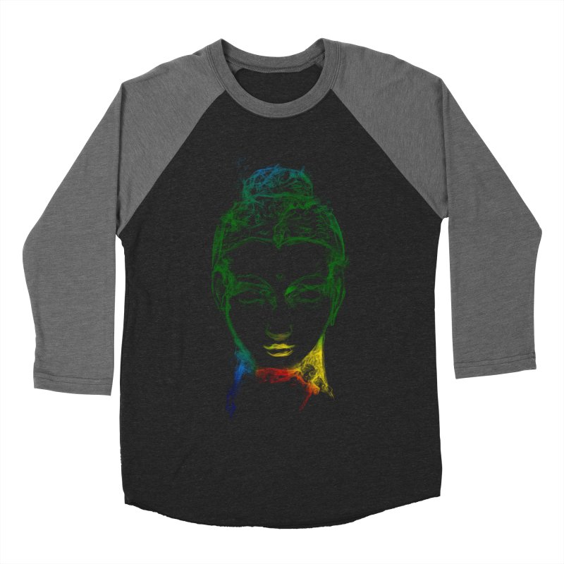 Buddha Light Women's Baseball Triblend Longsleeve T-Shirt by saksham's Artist Shop