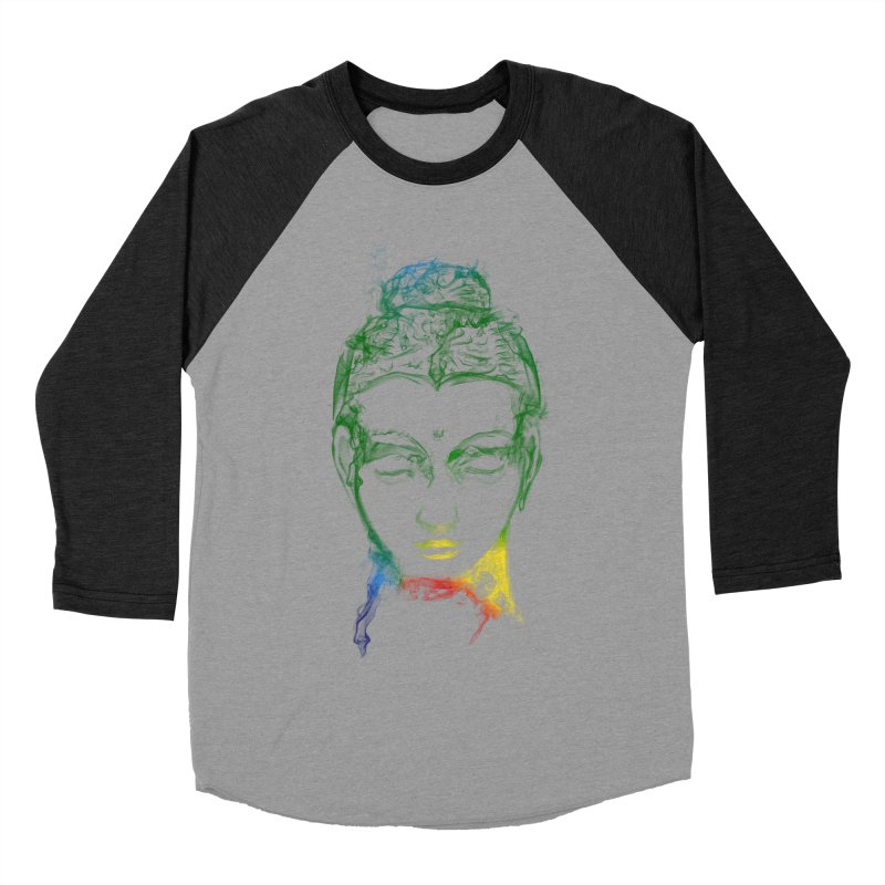 Buddha Light Women's Baseball Triblend T-Shirt by saksham's Artist Shop