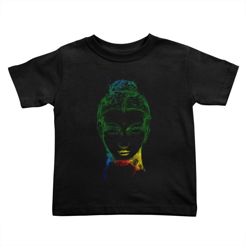 Buddha Light Kids Toddler T-Shirt by saksham's Artist Shop