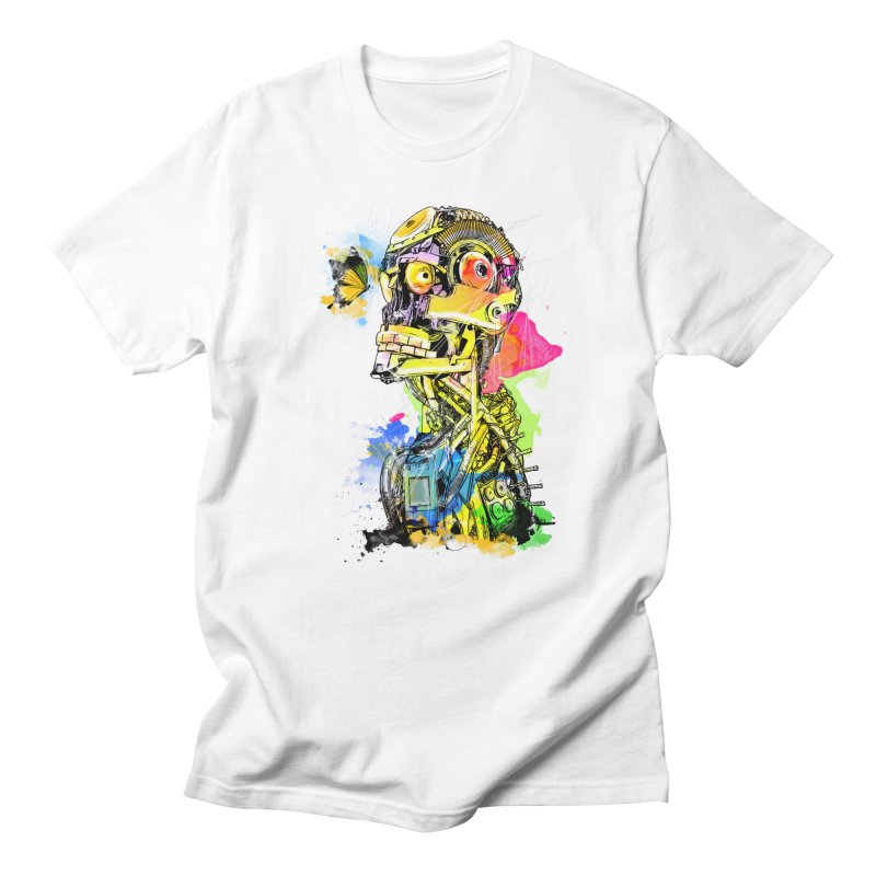 Machine hearted Men's T-Shirt by saksham's Artist Shop