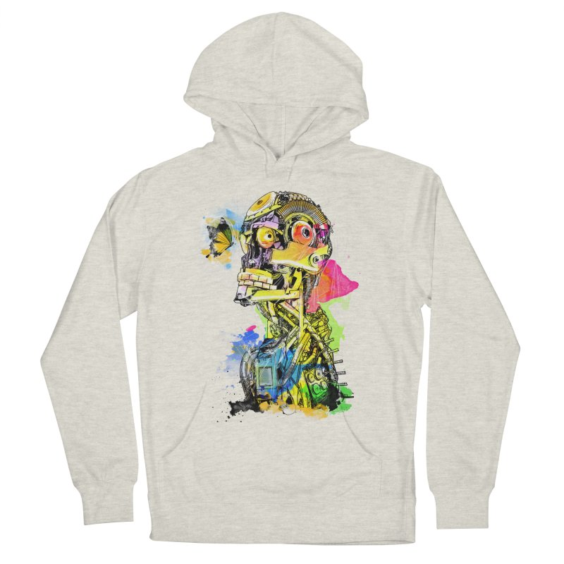 Machine hearted Women's Pullover Hoody by saksham's Artist Shop