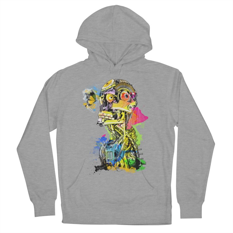 Machine hearted Men's Pullover Hoody by saksham's Artist Shop