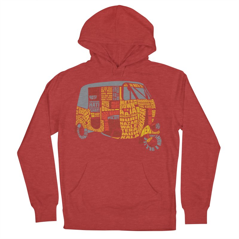 Indian Auto Typography Women's Pullover Hoody by saksham's Artist Shop