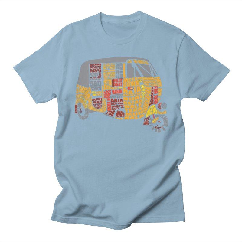 Indian Auto Typography Men's T-shirt by saksham's Artist Shop
