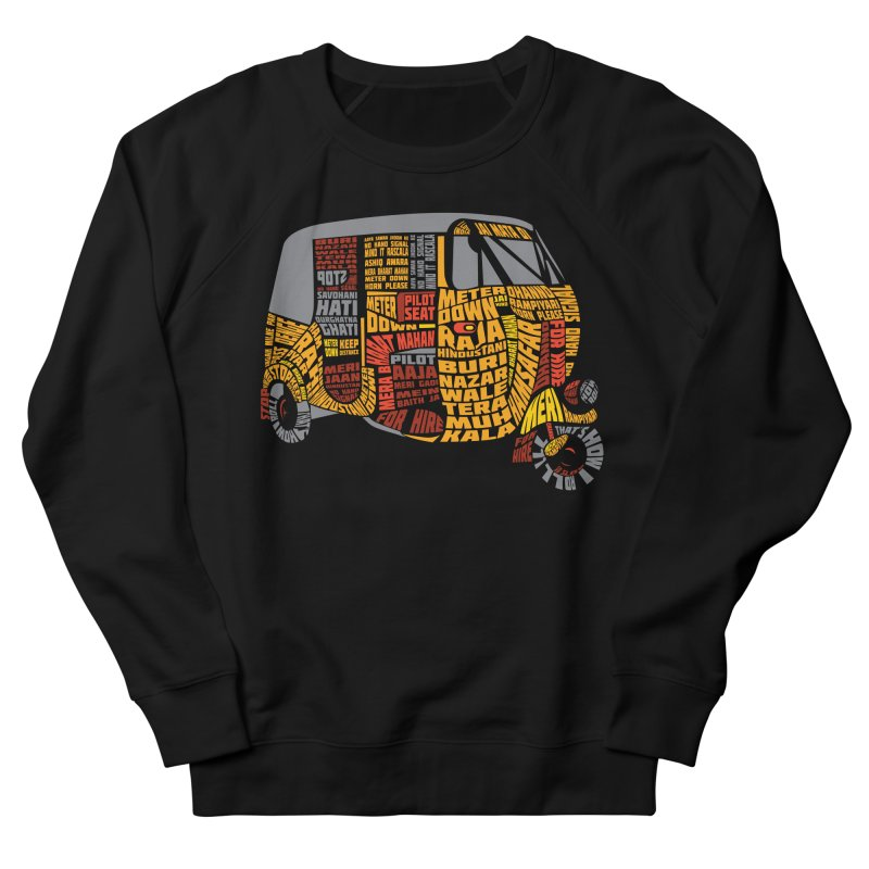 Indian Auto Typography Women's Sweatshirt by saksham's Artist Shop