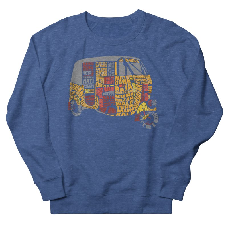 Indian Auto Typography Men's Sweatshirt by saksham's Artist Shop