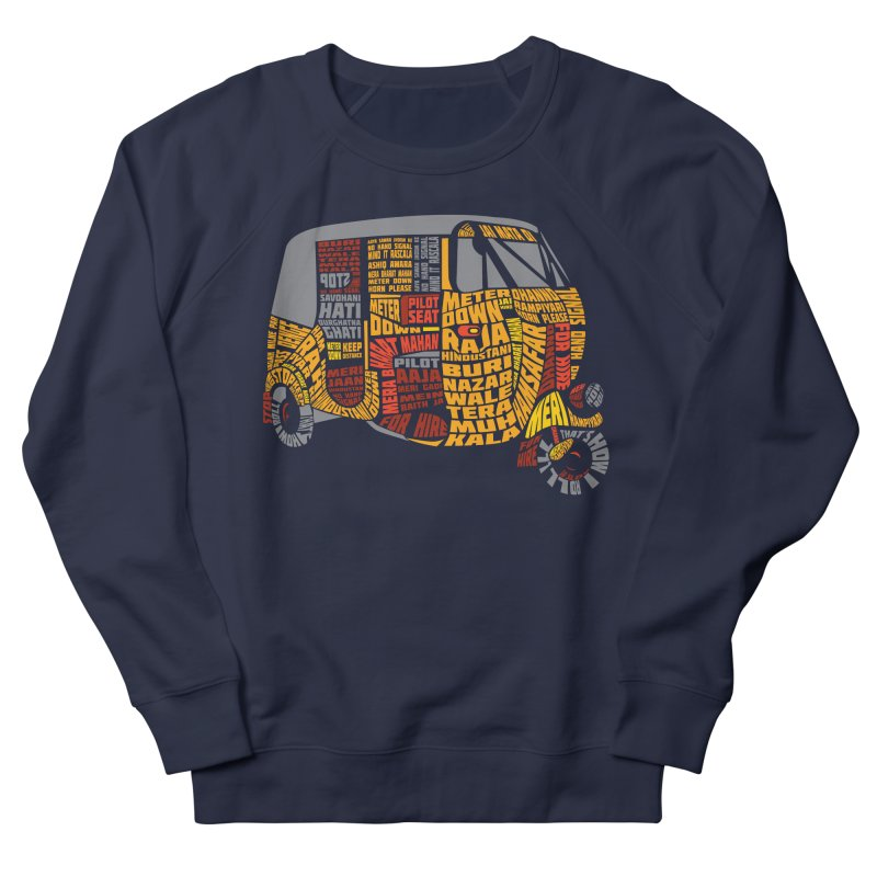 Indian Auto Typography Men's Sweatshirt by saksham's Artist Shop