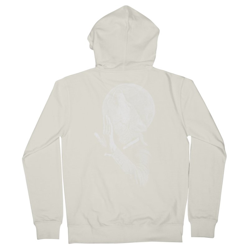 no paparazzi please Men's French Terry Zip-Up Hoody by Saksham Artist Shop