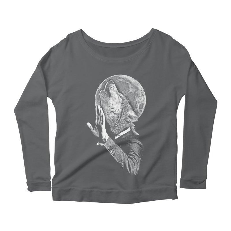 no paparazzi please Women's Scoop Neck Longsleeve T-Shirt by Saksham Artist Shop
