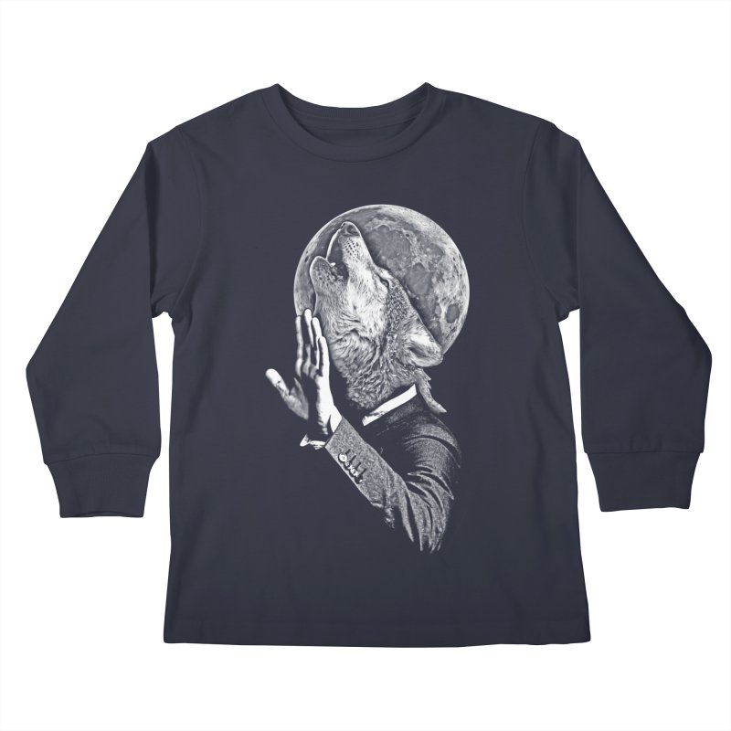no paparazzi please Kids Longsleeve T-Shirt by saksham's Artist Shop