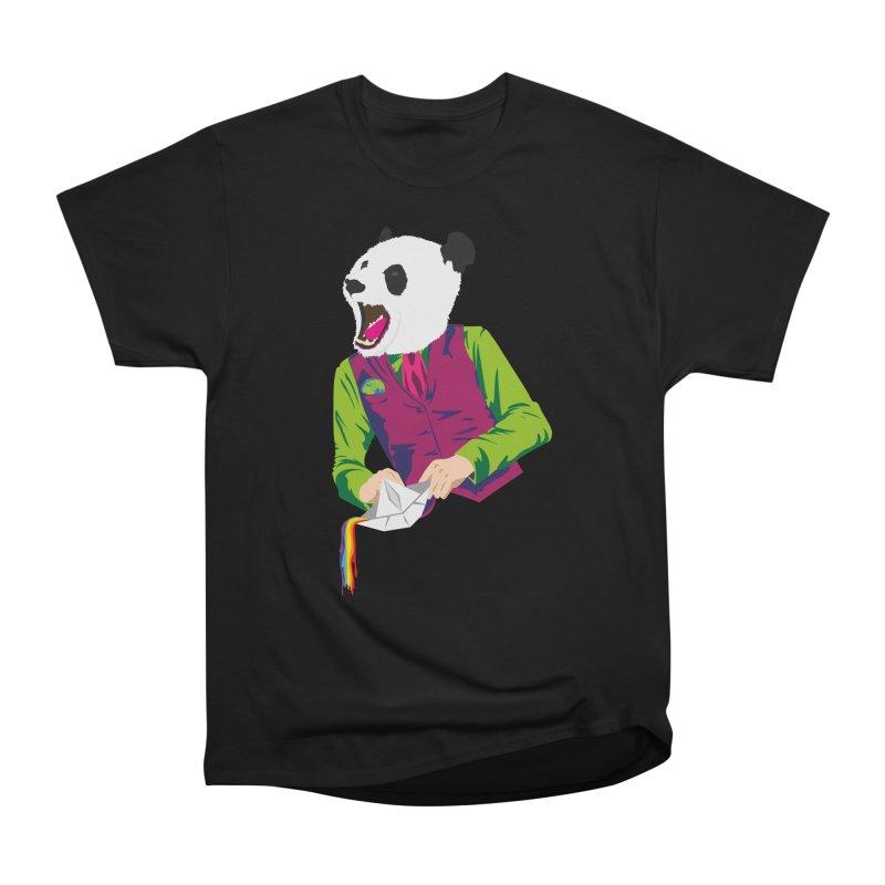 Panda Dandy Men's Heavyweight T-Shirt by Designs by sakubik