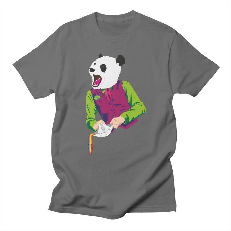 Panda Dandy Men's T-Shirt by Designs by sakubik