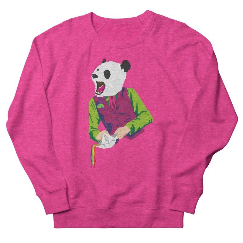 Panda Dandy Men's French Terry Sweatshirt by Designs by sakubik