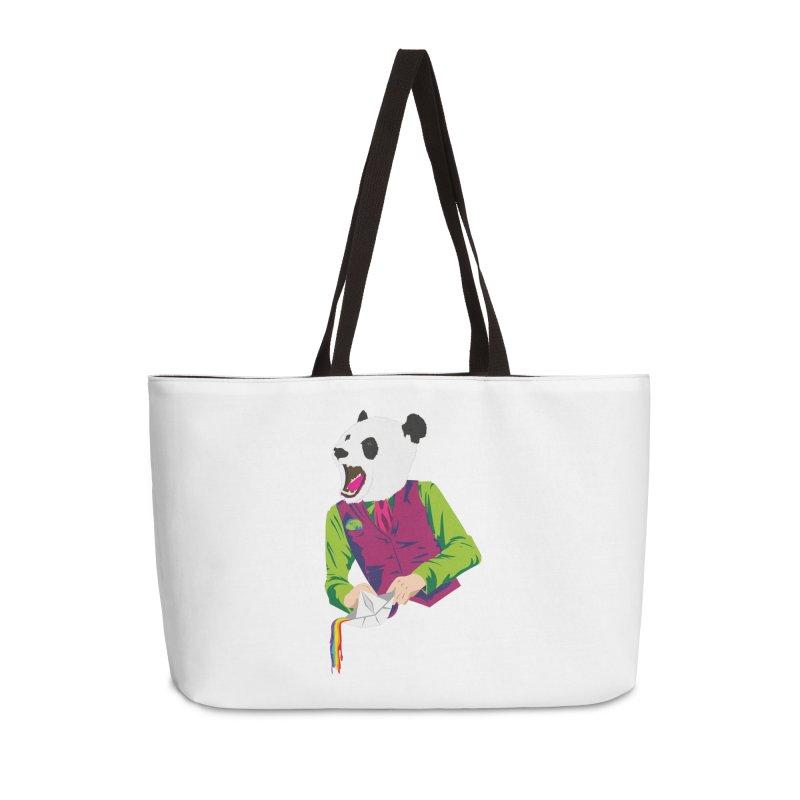 Panda Dandy Accessories Weekender Bag Bag by Designs by sakubik