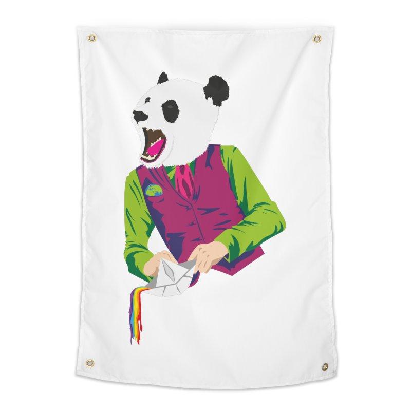 Panda Dandy Home Tapestry by Designs by sakubik