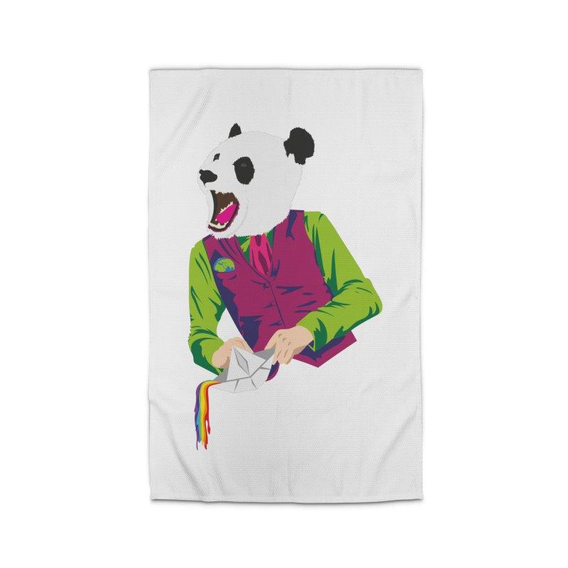 Panda Dandy Home Rug by Designs by sakubik
