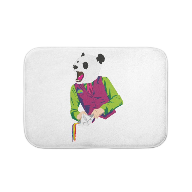 Panda Dandy Home Bath Mat by Designs by sakubik