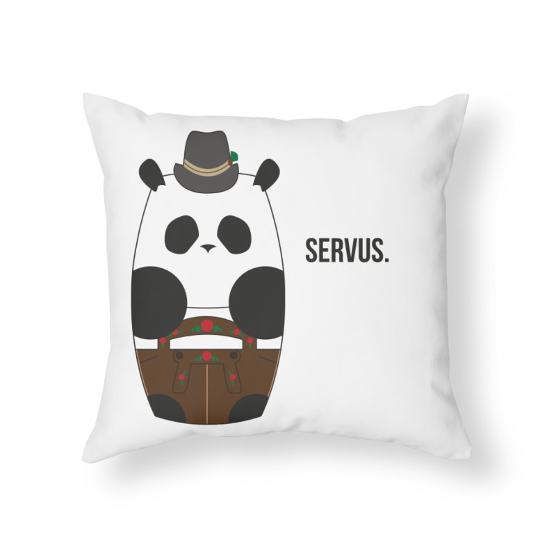 Culture Panda - Bavarian Home Throw Pillow by Designs by sakubik