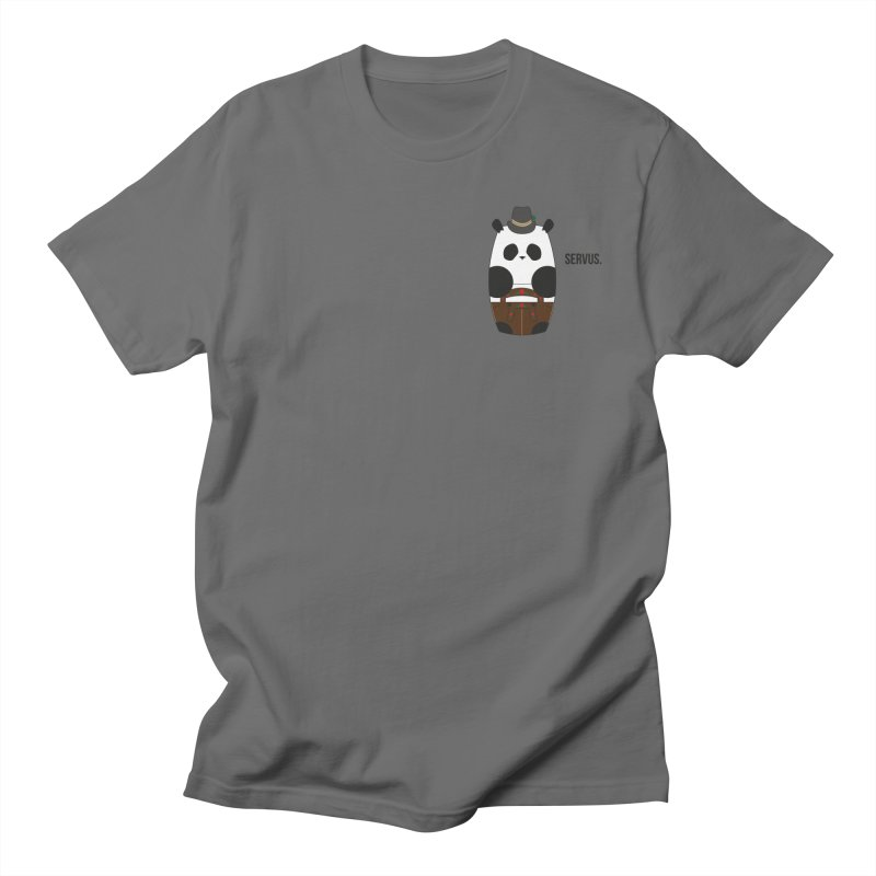 Culture Panda - Bavarian Men's T-Shirt by Designs by sakubik