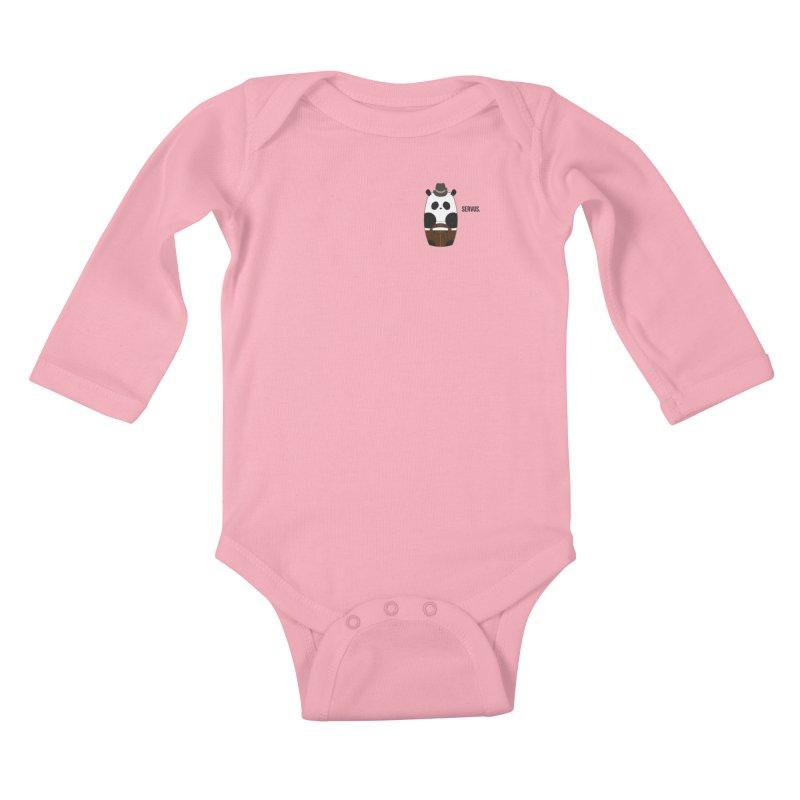 Culture Panda - Bavarian Kids Baby Longsleeve Bodysuit by Designs by sakubik