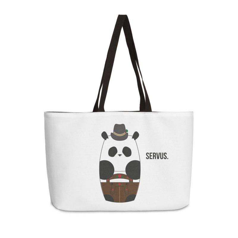Culture Panda - Bavarian Accessories Weekender Bag Bag by Designs by sakubik