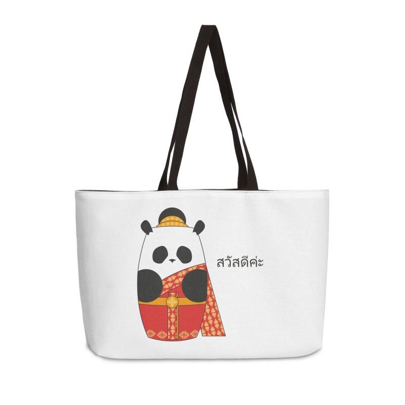 Culture Panda - Thai Accessories Weekender Bag Bag by Designs by sakubik