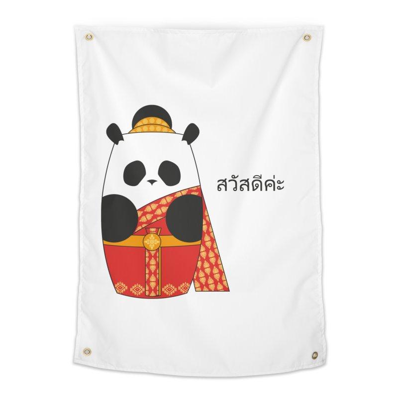 Culture Panda - Thai Home Tapestry by Designs by sakubik