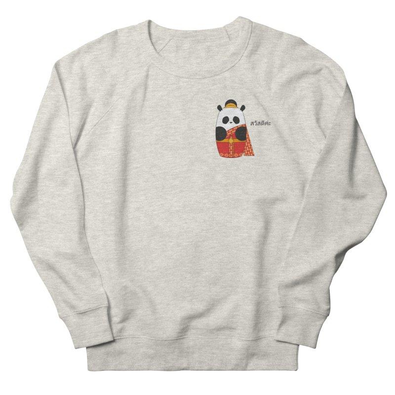 Culture Panda - Thai Men's French Terry Sweatshirt by Designs by sakubik