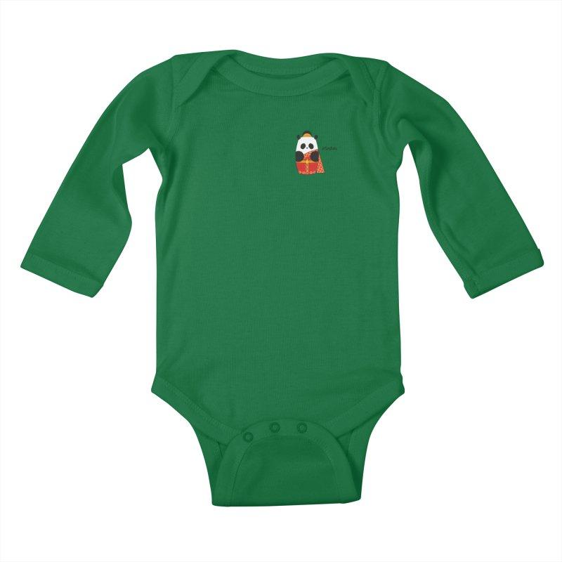 Culture Panda - Thai Kids Baby Longsleeve Bodysuit by Designs by sakubik