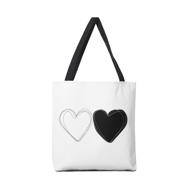 Hearts Accessories Bag by Designs by sakubik