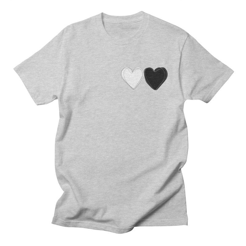 Hearts Men's T-Shirt by Designs by sakubik