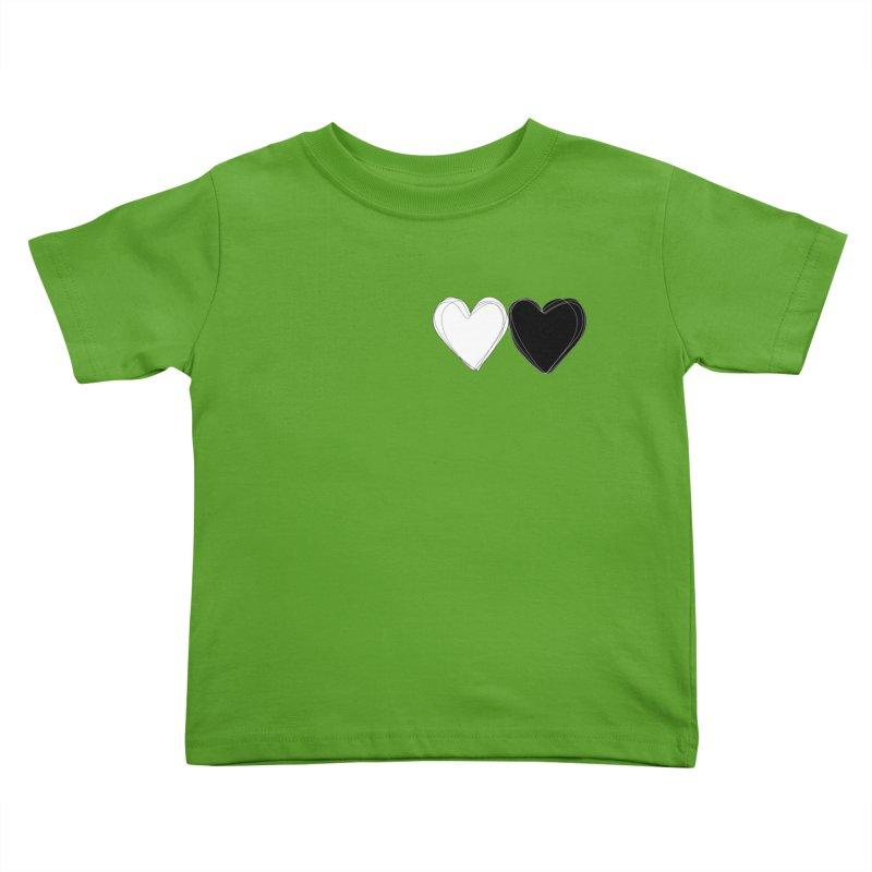 Hearts Kids Toddler T-Shirt by Designs by sakubik