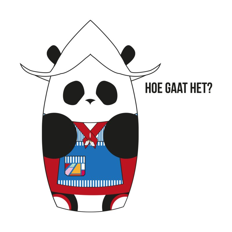 Culture Panda - Netherlands Kids T-Shirt by Designs by sakubik