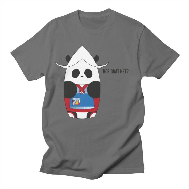Culture Panda - Netherlands Men's T-Shirt by Designs by sakubik