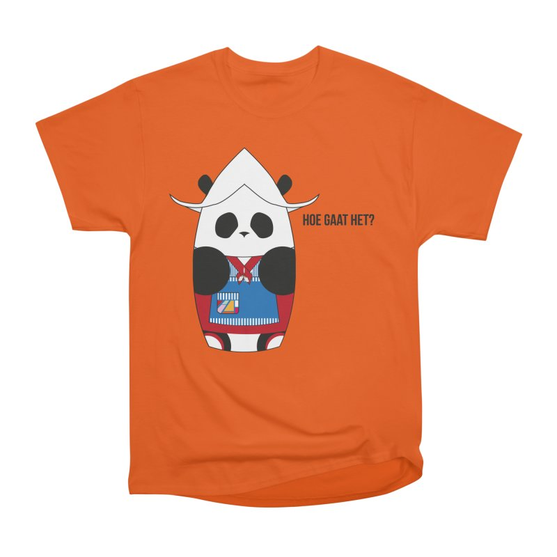 Culture Panda - Netherlands Women's T-Shirt by Designs by sakubik